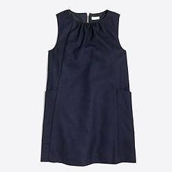 Girls' flannel jumper dress