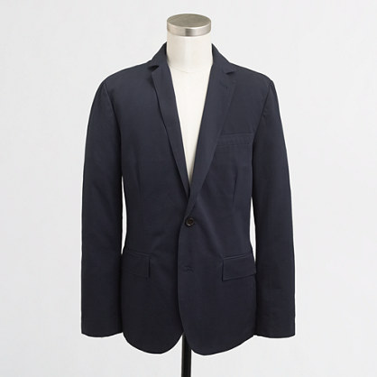 Thompson unconstructed blazer in chino