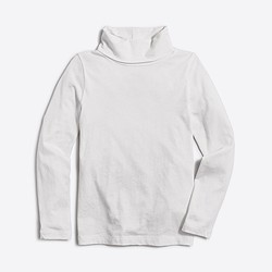 Girls' long-sleeve turtleneck
