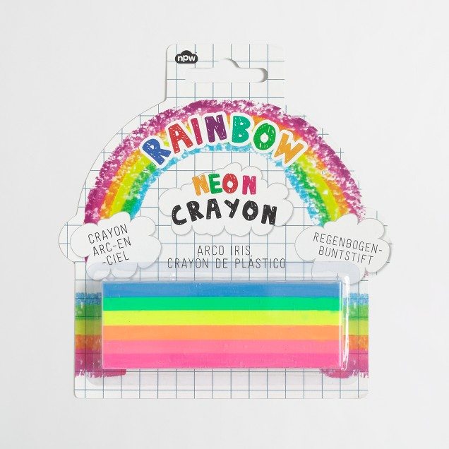 Girls' npw™ rainbow crayons