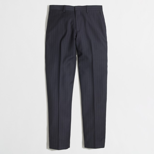 Slim Thompson suit pant in pinstripe