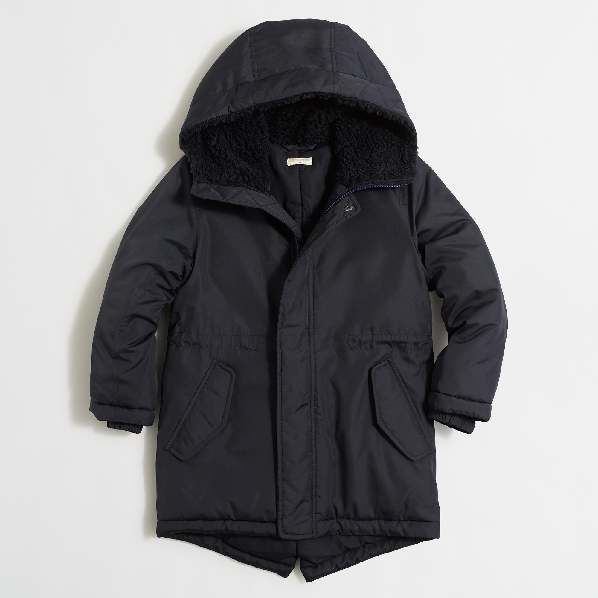 Boys' fishtail parka with Thinsulate® : | Factory