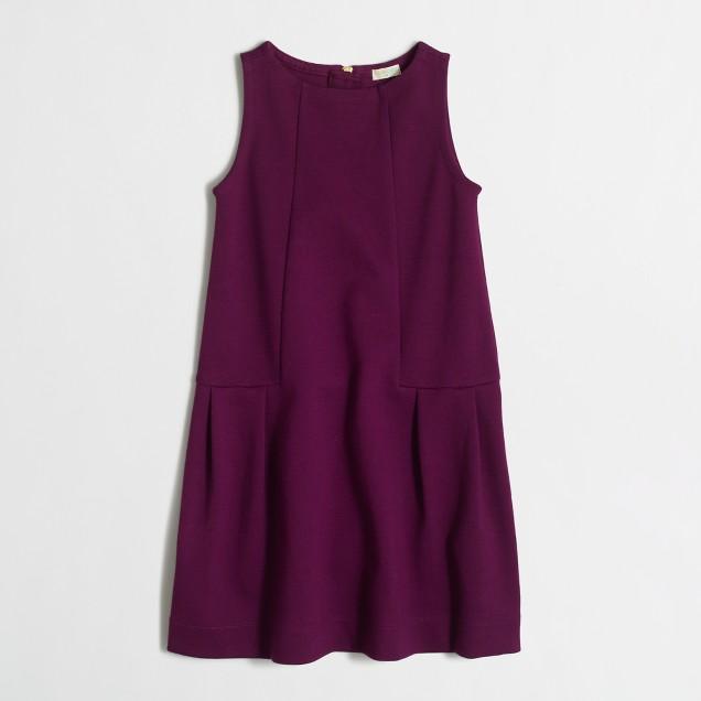 Girls' jumper dress