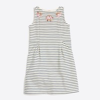 Girls' crosshatch necklace dress