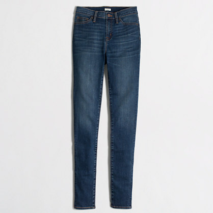 "Factory Miller wash high-rise skinny jean with 29"" inseam"