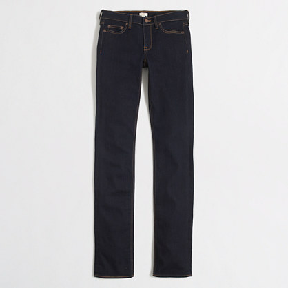Rinse wash straight and narrow jean