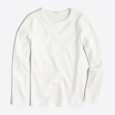 Girls' long-sleeve layering T-shirt factorygirls made-for-play basics under $25 c