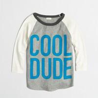 Boys' cool dude baseball storybook T-shirt