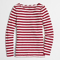 Factory striped artist T-shirt