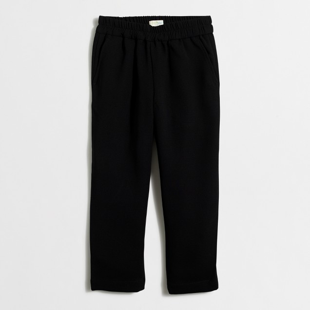 Girls' crepe pull-on pant
