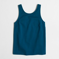 Fitted V-back tank top