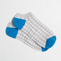 Geometric tennie socks