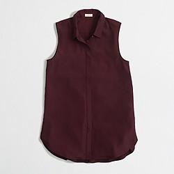 Factory sleeveless blouse