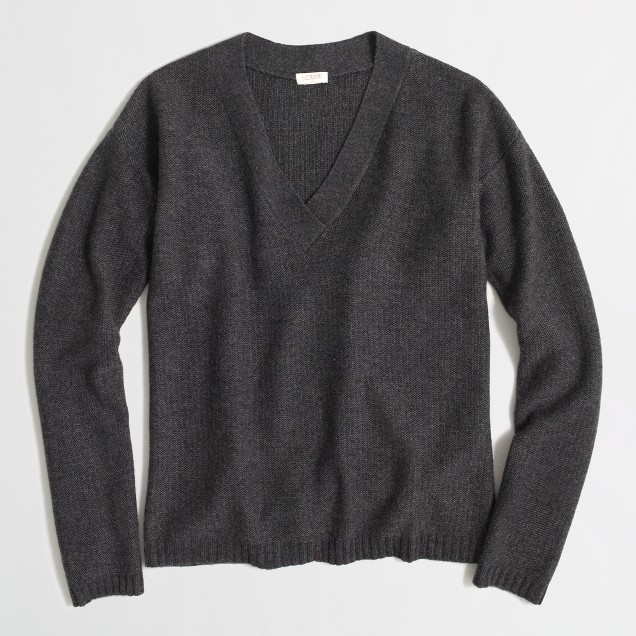Boyfriend V-neck sweater