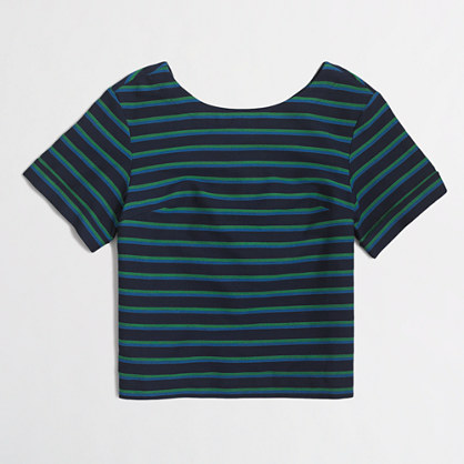 Striped swing top