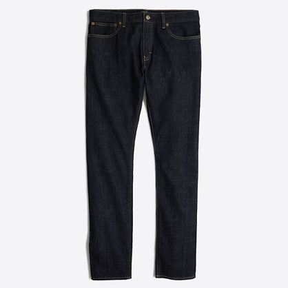 Driggs selvedge jean in dark wash