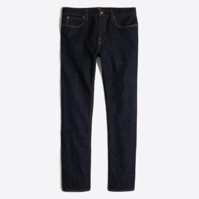 Sutton straight-fit selvedge jean in dark wash factorymen pants c