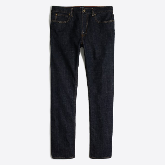 Sutton selvedge jean in dark wash