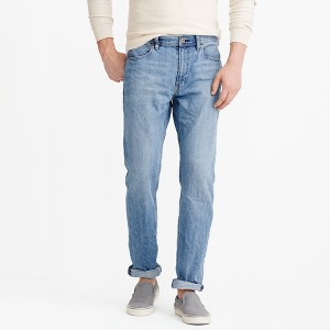 J.Crew Factory Mens Sutton Straight Fit Jeans