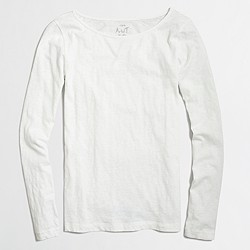 Long-sleeve artist T-shirt