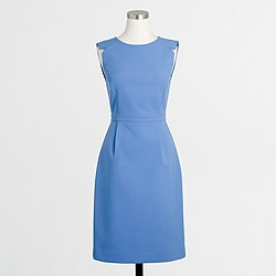 Factory fitted wool dress