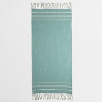 Beach towels with fringe