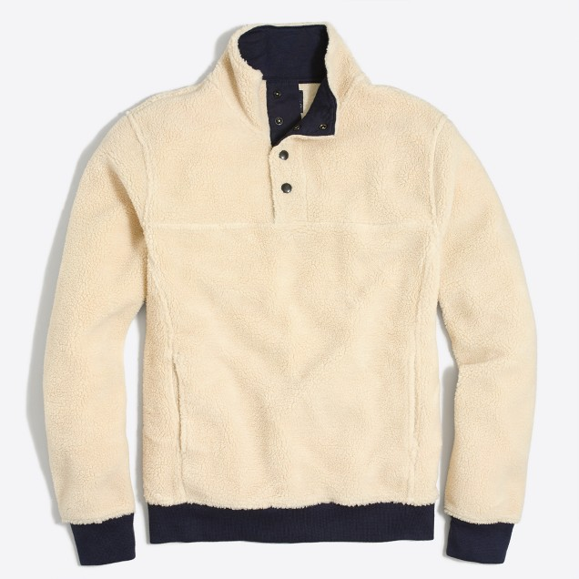 Upstate fleece pullover