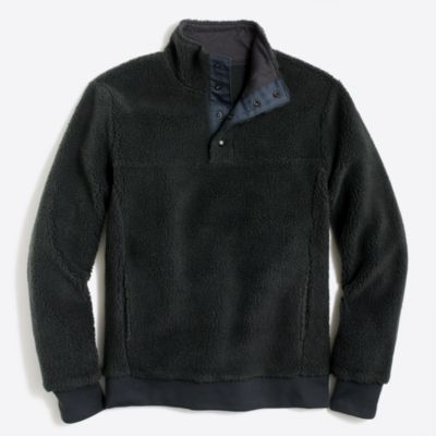 Upstate fleece pullover