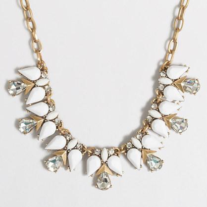Teardrop clusters necklace