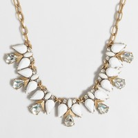 Teardrop clusters necklace