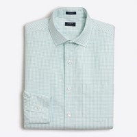 Thompson dress shirt in mini-check