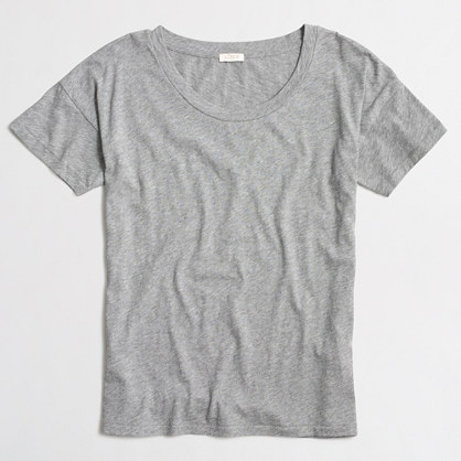Drop-shoulder T-shirt