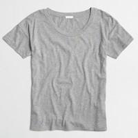 Drop-shoulder T-shirt
