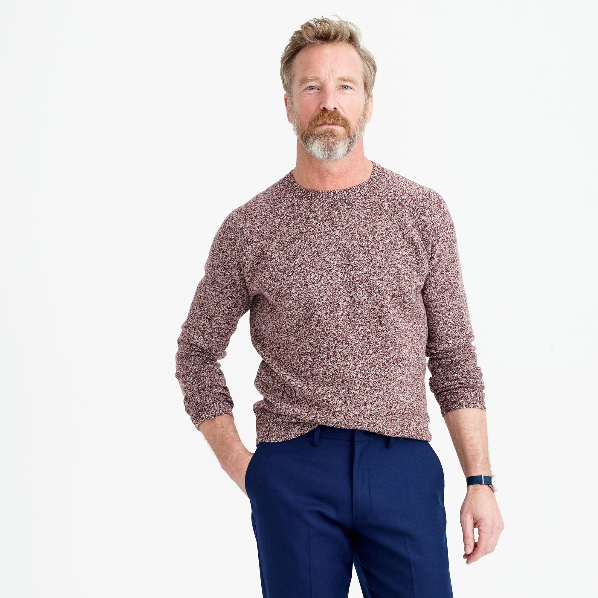 Tall Marled Lambswool Sweater : Men's Sweaters | J.Crew