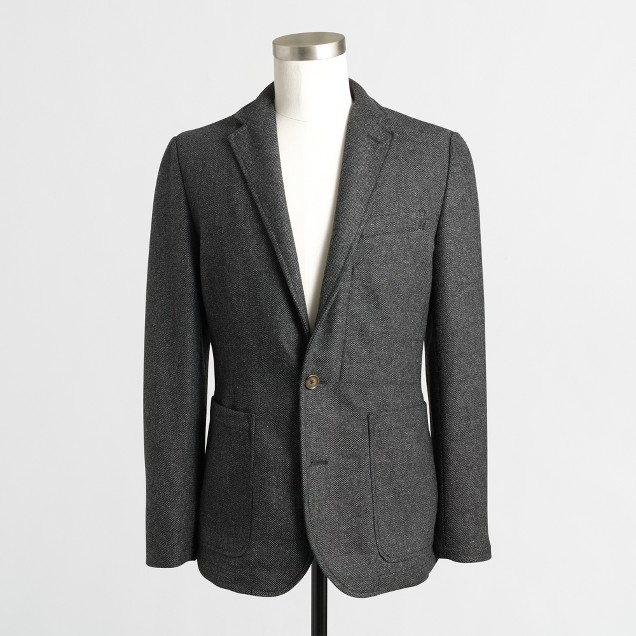 Thompson bonded unconstructed blazer