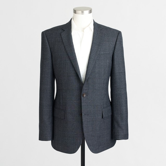 Thompson blazer in glen plaid