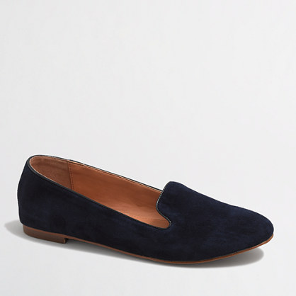 Cora suede loafers