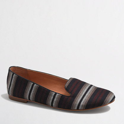 Cora striped loafers