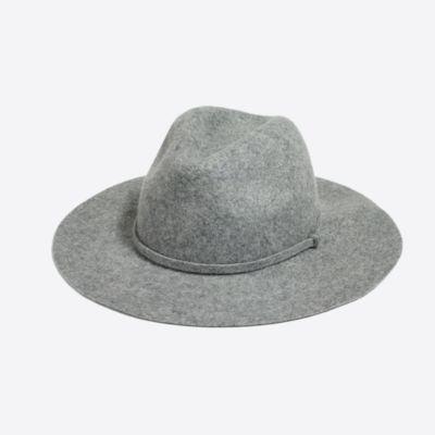 Classic wool fedora