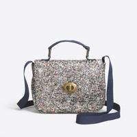 Girls' glitter mini purse