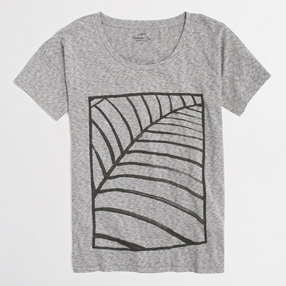 Abstract leaf collector T-shirt