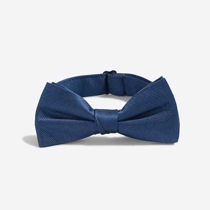 Boys' silk bow tie