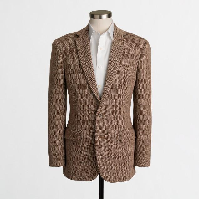 Slim Thompson suit jacket in bird's-eye wool