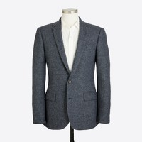 Slim Thompson suit jacket in bird's-eye wool