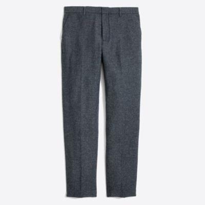 Slim Thompson suit pant in bird's-eye wool factorymen thompson suits & blazers c