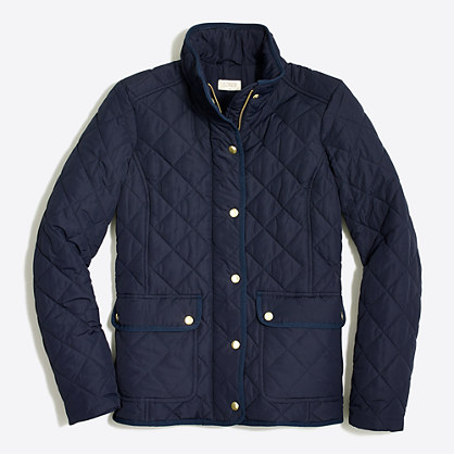 Quilted jacket : Coats | J.Crew Factory
