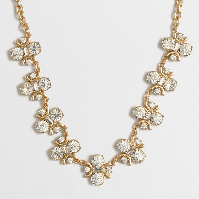 Crystal symmetry necklace