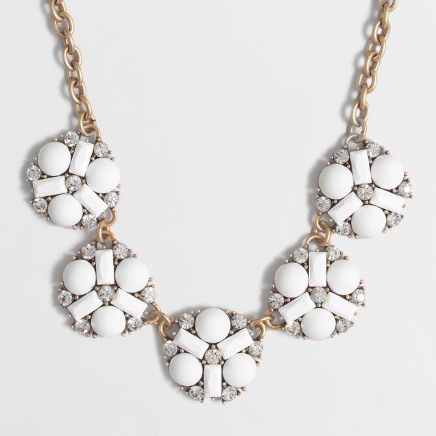 Pinwheel medallion necklace