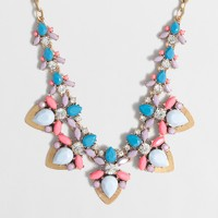 Jeweled collage necklace