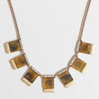 Tortoise squares necklace
